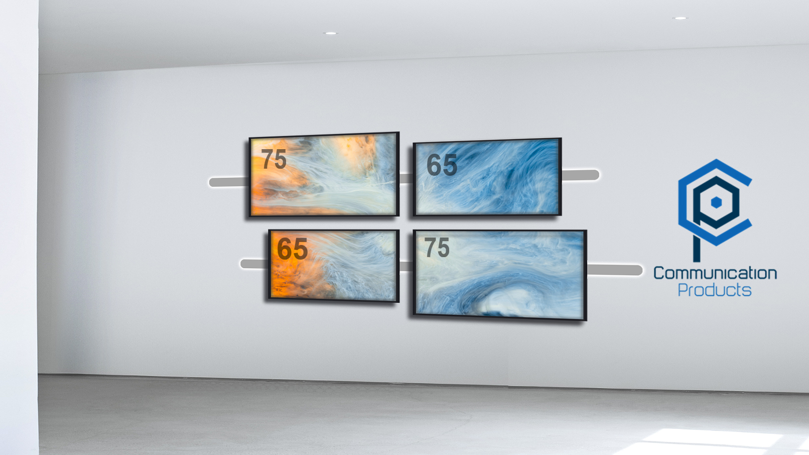 Tv wall rendition 65-75 for web site