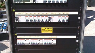 Audio Factory Quadro Alimentazione 125A – Noleggio/Rental