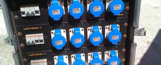 Link Audio Factory Quadro Alimentazione 63A+Dim – Noleggio/Rental