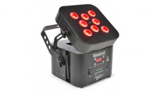 Wi-Par 8x 3W 3-in-1 LEDs Battery 2.4GHz DMX