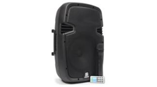 SPJ-PA910 Mobile Amplifier ABS 10″ BT/VHF/USB/MP3
