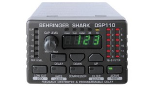 Shark DSP110 Digital 24-Bit Multi-Function Signal Processor – Noleggio/Rental