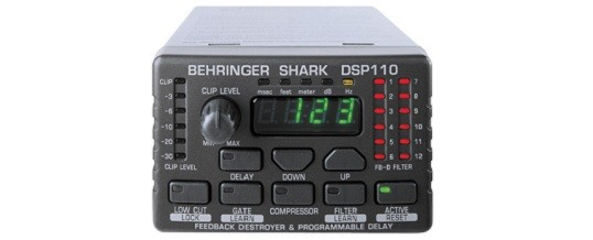 Shark DSP110 Digital 24-Bit Multi-Function Signal Processor – Noleggio/Rental