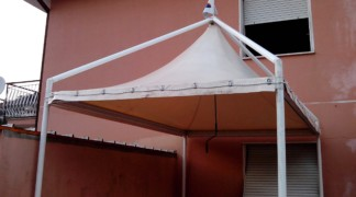 Gazebo summer 4×2,5 mt