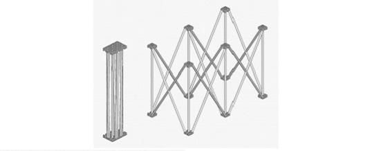 Pedana Titan Stage 100×100 cm – Noleggio/Rental