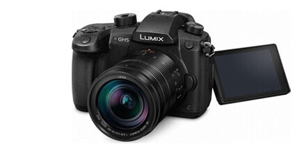 foto-cine-camera 4K mirrorless LUMIX DC-GH5 noleggio – rental