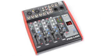 Power Dynamics PDM-L405 mixer 4 canali USB AUX