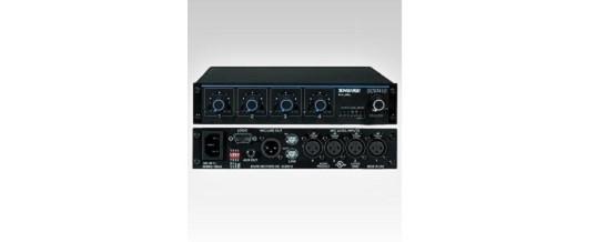 Rack 6U Shure 4 Radio Microfoni – Noleggio/Rental