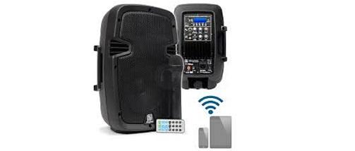 Skytec SPJ-1000AD mp3 10″ Bluetooth Active PA Speaker System 400W diffusore portatile noleggio/rental