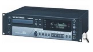 Tascam CD-RW900 Lettore CD – Noleggio/Rental