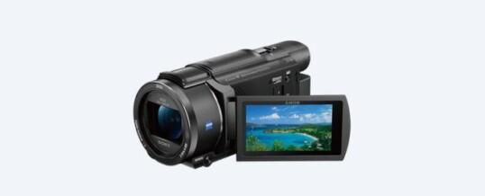 Sony AX53 4K ULTRA HD CON SENSORE CMOS EXMOR