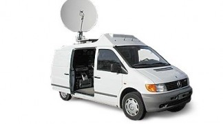 Collegamento video IP e internet via satellite noleggio/rental