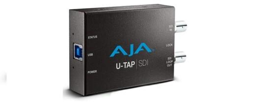 U-TAP SDI AJA VIDEO SYSTEMS, convertitore da SDI a USB 3.0 -Noleggio/Rental