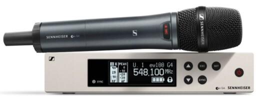 Radiomicrofoni professionali a gelato Sennheiser EW 100 G4-835-S  – Noleggio/Rental