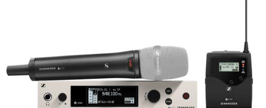 Radiomicrofono Sennheiser EW 300 G4 – Noleggio/Rental