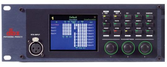 DBX Drive Rack 4800 Digital DSP Multiprocessore Digitale – Noleggio/Rental