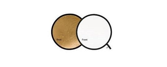 Lastolite Circular Reflector gold/white 54cm – Noleggio/Rental