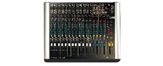 Soundcraft Spirit M12 Mixer audio – Noleggio/Rental – service audio