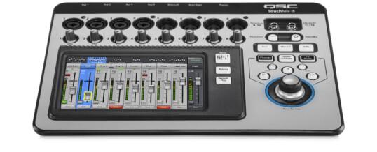 TouchMix-8 12-Channel Compact Digital Mixer noleggio-rental