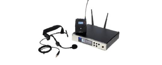 Radiomicrofoni ad archetto professionali Sennheiser